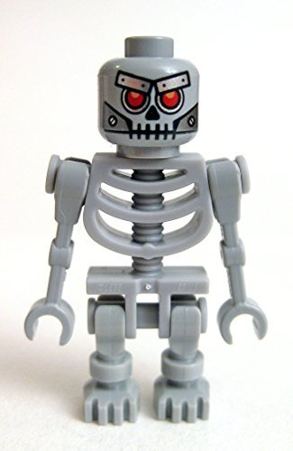 LEGO Movie Skeletron Minifigure (Robot Skeleton) - 1