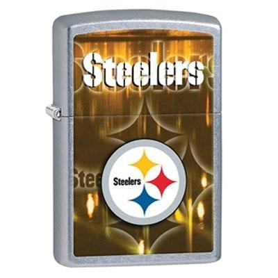 Brand New Zippo Manufacturing Nfl Steelers Lighter