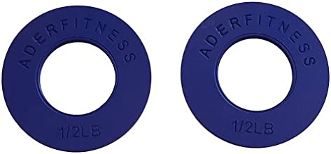 Olympic Fractional Plates Pair- 12 Lb Blue