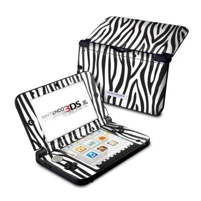 【即納】ニンテンドー3DS LL用スキンシール【Zebra Stripes】
