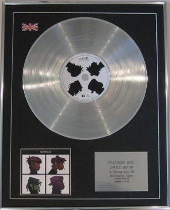 "Platinum-CD GORILLAZ, DEMON DAYS """