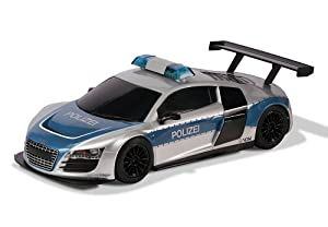 Scalextric 1:32 Audi R8 Police Slot Car