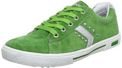 Gabor girls Tami 67 420 04, Mädchen Sneaker, Grün (green), EU 34