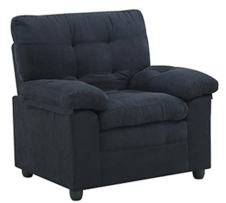 Upholstery Upholstered Microfiber Chair Club Seat with Padded-arm Living Room Soft Home Furniture Bedroom Bed Room Relaxing Comfort Lounger Sofa