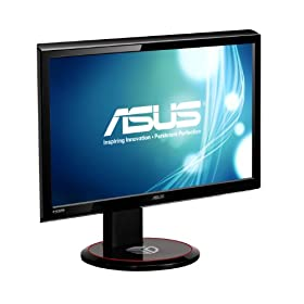 ASUS VG236H 23-Inch 120 Hz 3D Ready Panel Monitor with nVidia 3D Vision Kit - Black