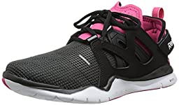 Reebok Women\'s Zcut TR Training Shoe, Black/Gravel/Blazing Pink/White, 7 M US