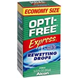 PACK OF 3 EACH OPTI-FREE REWETTING DROPS 20ML PT#65019320