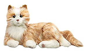 Ageless Innovation | Joy For All Companion Pets | Orange Tabby Cat | Lifelike & Realistic (Color: Orange Tabby)