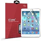 iCarez HD Anti Glare Screen Protector Anti Fingerprint, Anti-Scratch, Anti-Dust & Bubble Free For iPad Mini 1, 2 - Retail Packaging (Pack of 2)