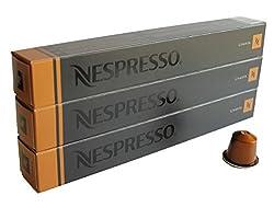 30 Pods Livanto Nespresso Coffee Capsules (3 Sticks)