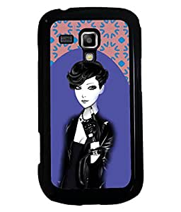 Printvisa 2D Printed Girly Designer back case cover for Samsung Galaxy S Duos S7562 - D4178