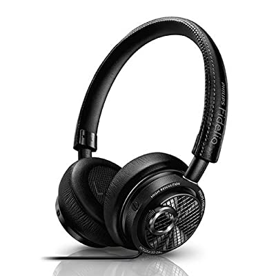Philips M2L/27 Fidelio Headphones with Lightning Connector (Black)