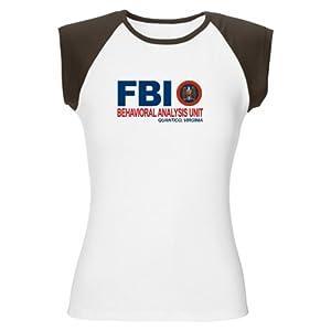 CafePress Criminal Minds FBI BAU Women's Cap Sleeve T-Shirt