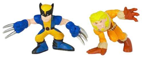 Marvel Super Hero Squad: Wolverine & SaberTooth (Super Hero Squad Video Game compare prices)