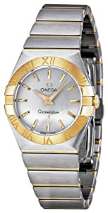 Omega Women's 123.20.27.60.02.002 Constellation Silver Dial Watch