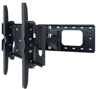 PLB109B Universal 32-60″ LCD/Plasma TV Wall Mount Bracket Swivel Arms & Tilt