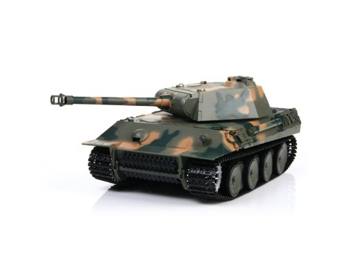 HONGLONG German Panther 1:16 Scale 6-Channel Radio Control Battle Tank (Green)