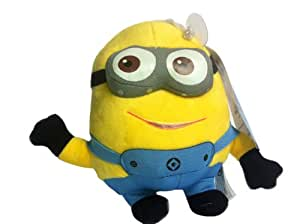 Despicable Me 6 inch Plush Minion Dave with suction cup attachment