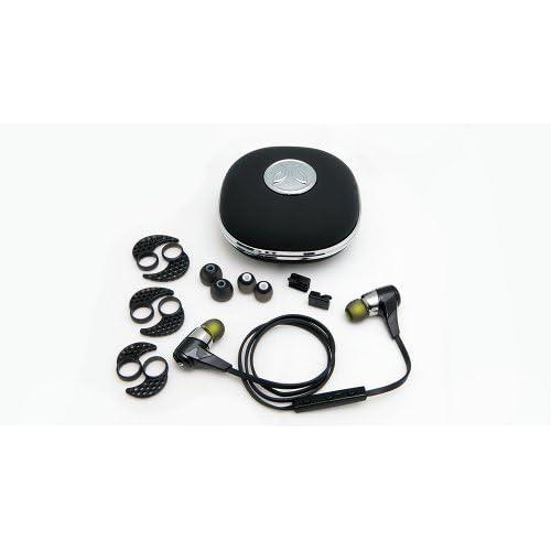 【日本正規代理店品】JayBird BlueBuds X Bluetooth ヘッドフォン (ミッドナイトブラック) JBD-EP-000002