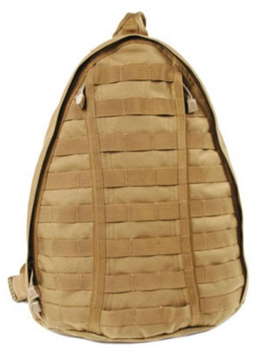 B003ELQX80 BLACKHAWK! Sling Backpack – Coyote Tan