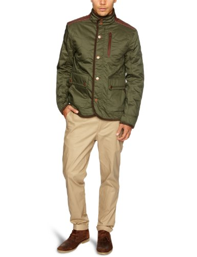 Timberland Rugged Quilted Men's Jacket Forest Night Small