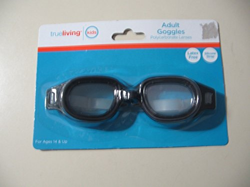 Adult Goggles Black - 1