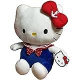 Hello Kitty In Sailor Costume Plush, Multi Color (35cm)
