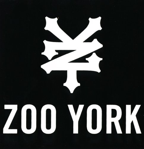 Zoo York Sticker - Skateboard BMX Hip Hop Street NYC (Zoo York Skateboard Stickers compare prices)