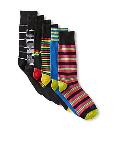Funky Socks 30365H Men's Socks - 6 Pack, Assorted, One Size