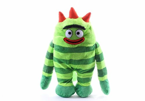 "Official Yo Gabba Gabba Brobee Plush Pillow Doll Backpack Bag 17"" - 1"