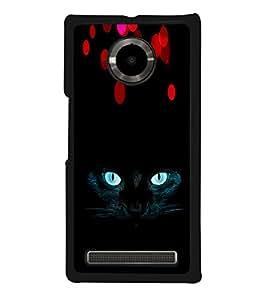 ifasho Designer Phone Back Case Cover YU Yuphoria :: YU Yuphoria YU5010 ( Black Red Purple Colorful Pattern Design )