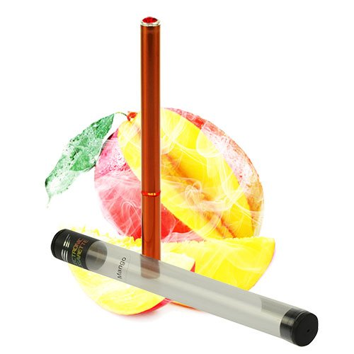 Luxus E Shisha 500 Zug Mango Profi Wasser Pfeife Multi LED E-Hookah to go 2 go