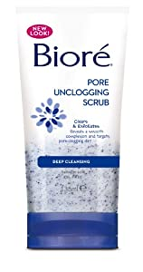 Biore Pore Unclogging Scrub 135ml