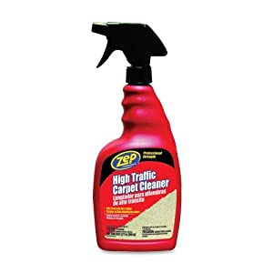 Zep High Traffic Carpet Cleaner Pet Spray Bottle 32 Oz