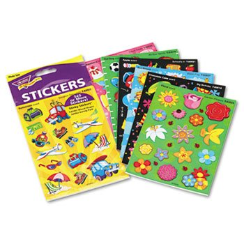 NEW - Stinky Stickers Variety Pack, Good Times, 535/Pack - T83907