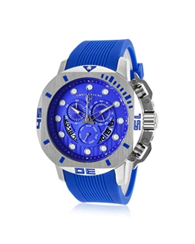 Swiss Legend Men's 10538S-03 Scubador Sport Blue Silicone Watch