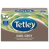 Tetley Earl Grey Tea Bags Drawstring in Envelope - Pack of 25 Tea Bags