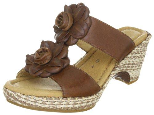 Gabor Women's Horizon Peanut Slides Sandal 42.742.53 6 UK