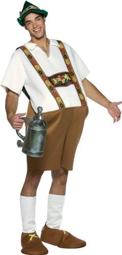 Adult Men's German Lederhosen Halloween Costume