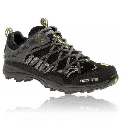 Inov-8 Men's Roclite 295 Trail Running Shoe,Black/Lime,12 M US Men's/13.5 M US Women's