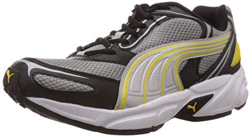 Puma Men's Aron Ind. Black Running Shoes - 8 UK