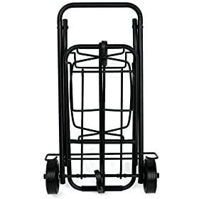 Trademark Tools 75-CARTLUG Folding Travel Cart Holds Up To 80 Pounds