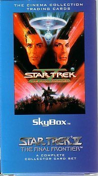 "Star Trek V ""The Final Frontier"" SKYBOX Cinema Collection Trading Cards - A Complete Collector Card Set"