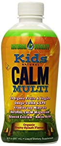 Natural Vitality - Kids Natural Calm Multi (Organic Fruity Splash Flavor, 30oz)