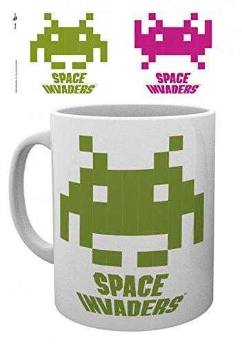 Space Invaders - Crab Tazza Da Caffè Mug (9 x 8cm)