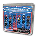 Major League Baseball Helmet Standings Board Clear