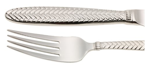 Wallace Continental Reins 65-Piece Stainless-Steel Boxed Flatware Set, Service for 12