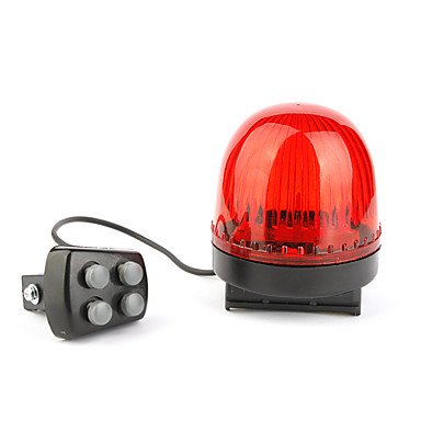 Outdoor Cycling Bicycle 6 LED Light Set 4 Horn Button