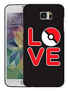 """Humor Gang Cute Cartoon Love Black Printed Designer Mobile Back Cover For """"Samsung Galaxy Note 5"""" (3D, Matte, Premium Quality Snap On Case)"""