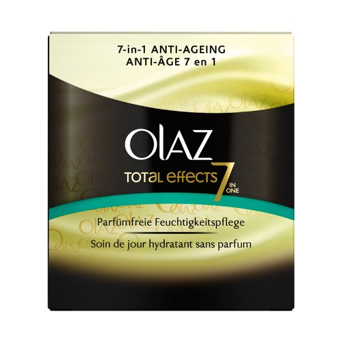Olay - Total Effects - Crema da giorno anti-invecchiamento - Profumo vaso 50 ml